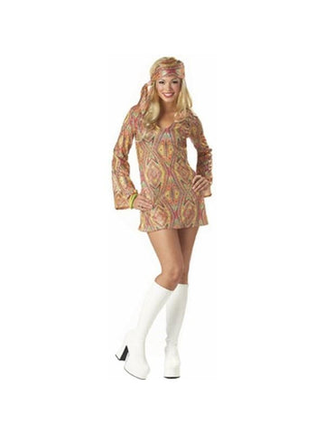 Adult Disco Doll Costume-COSTUMEISH