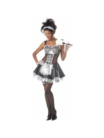 Adult Sexy House Maid Costume-COSTUMEISH