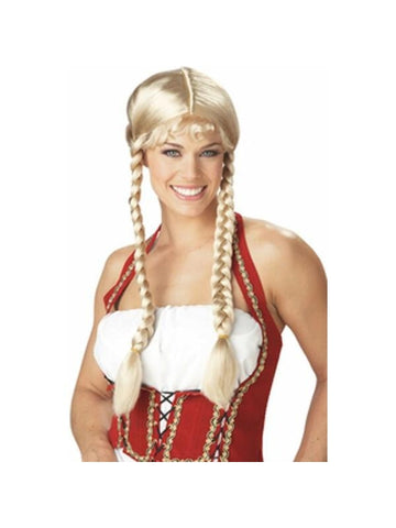 Beer Garden Girl Wig-COSTUMEISH