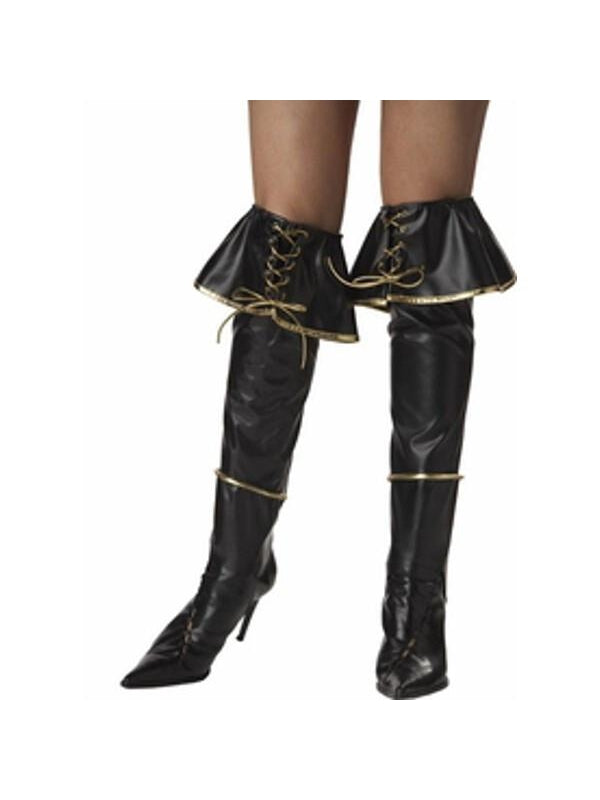 Sexy Pirate Boot Covers-COSTUMEISH