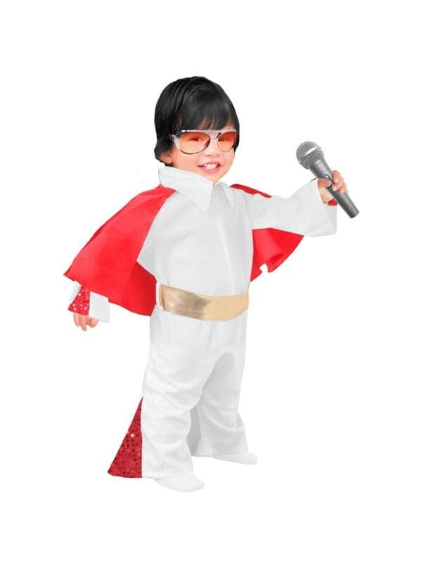 Toddler Elvis Jumpsuit Costume-COSTUMEISH