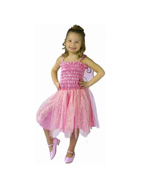 Toddler Pink Fairy Costume-COSTUMEISH