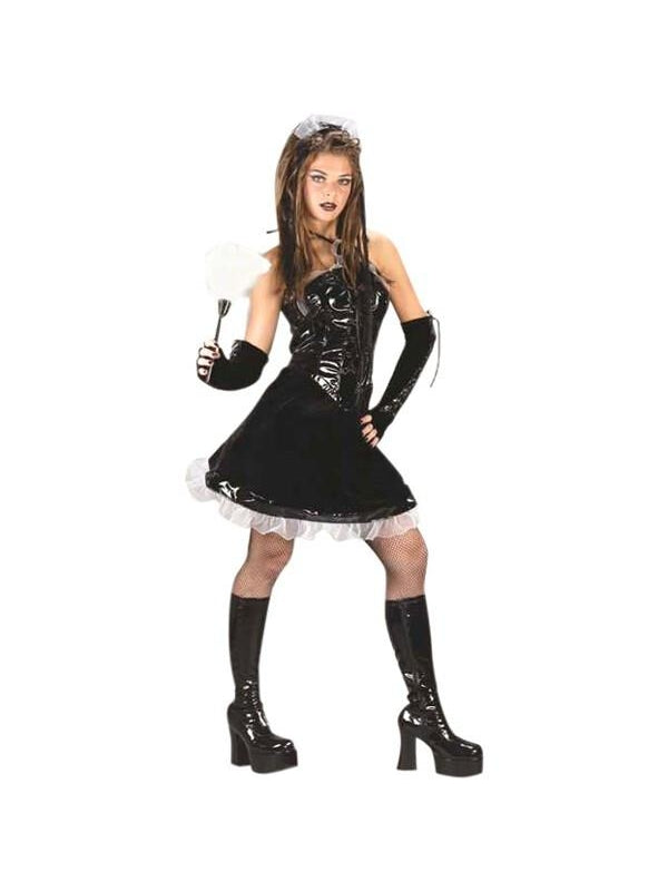 Teen Corsette Maid Costume-COSTUMEISH