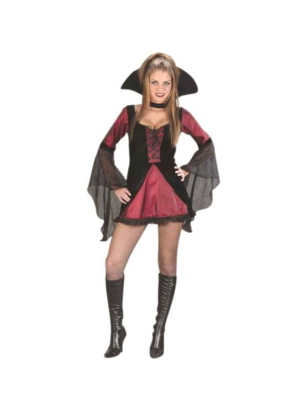 Teen Sexy Vampiress Costume-COSTUMEISH