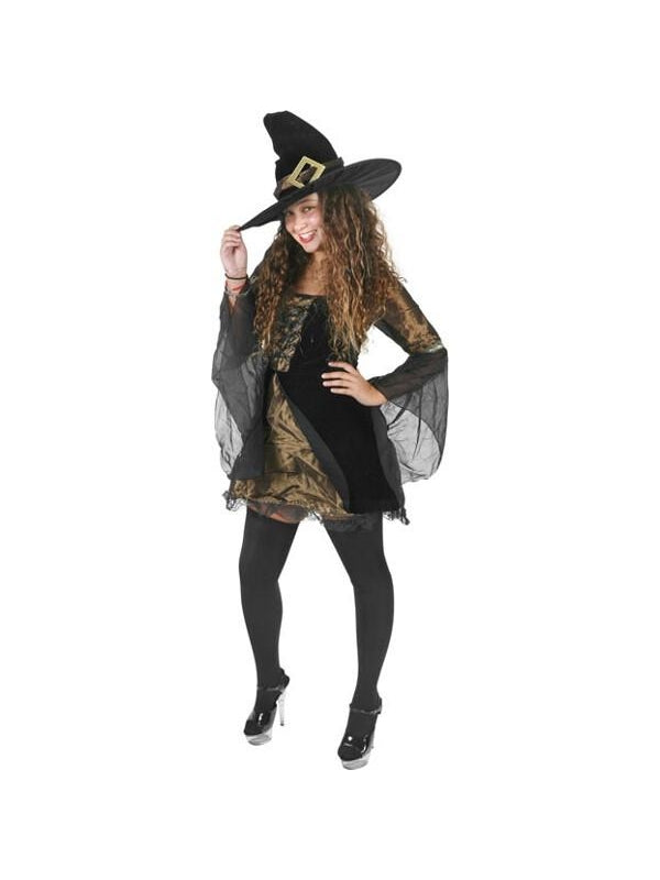 Teen Sweet & Sexy Witch Costume-COSTUMEISH