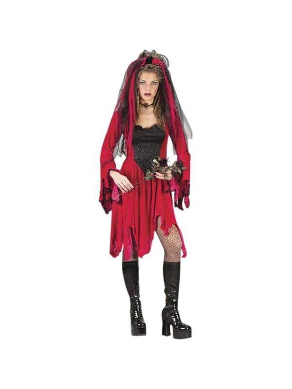 Teen Devil Bride Costume-COSTUMEISH