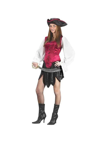 Teen First Mate Pirate Costume-COSTUMEISH