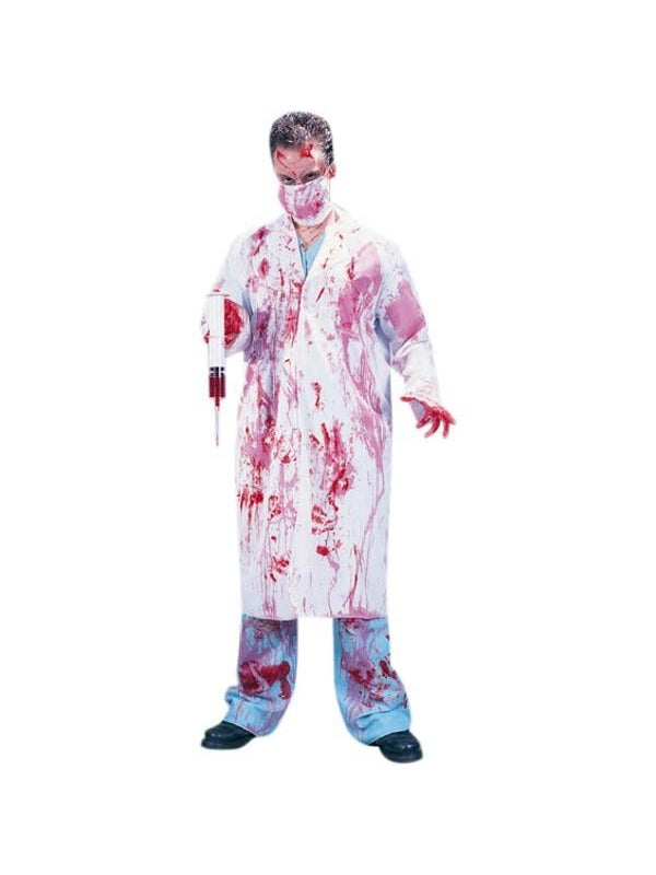 Adult Bloody Doctor Costume-COSTUMEISH