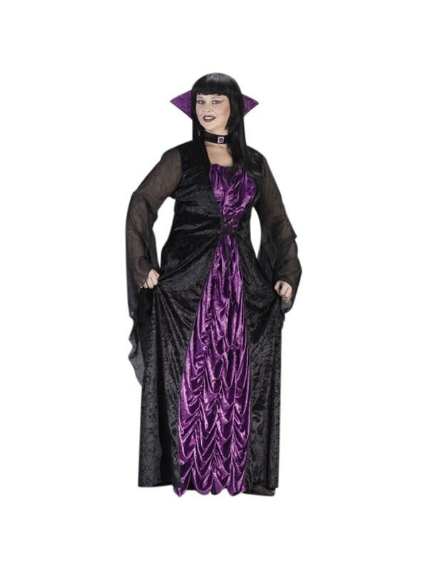 Adult Plus Size Countess Costume-COSTUMEISH