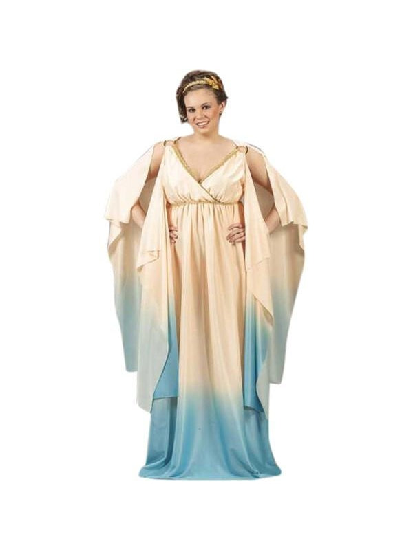 Adult Plus Size Greek Goddess Costume-COSTUMEISH