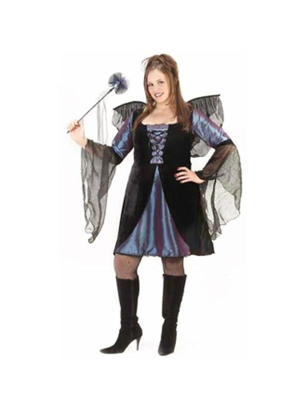 Adult Plus Size Sexy Sweet Fairy Costume-COSTUMEISH