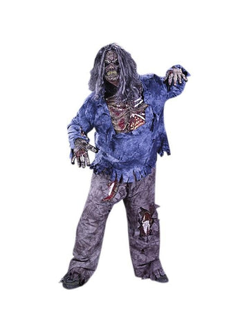 Adult Plus Size Walking Dead Zombie Costume-COSTUMEISH