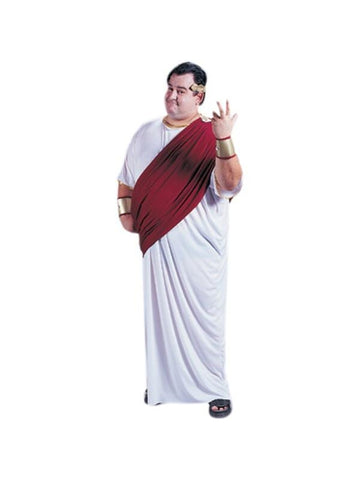 Adult Plus Size Ceasar Costume-COSTUMEISH