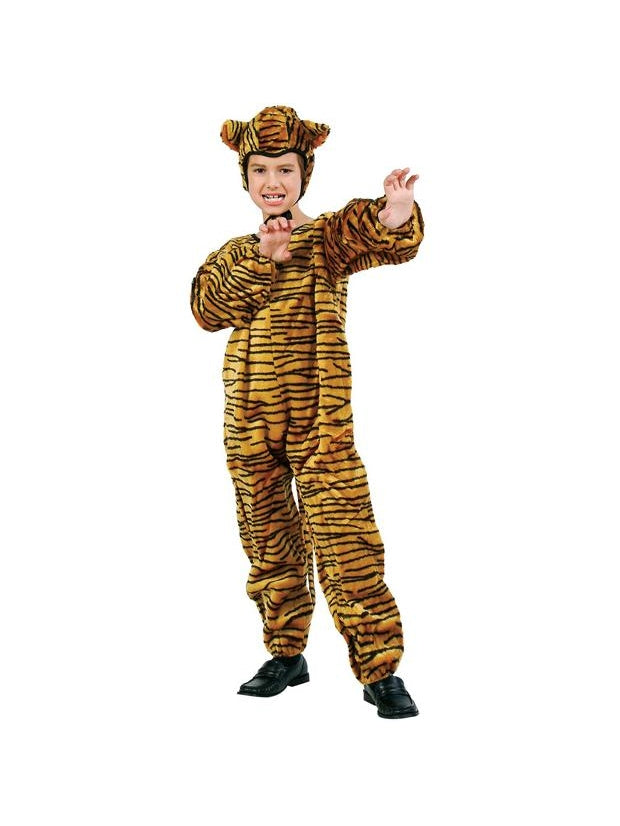 Child's Tiger Jumpsuit Costume-COSTUMEISH