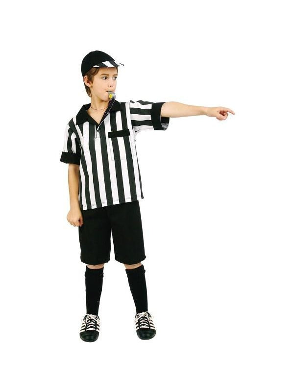 Child Referee Boy Costume-COSTUMEISH