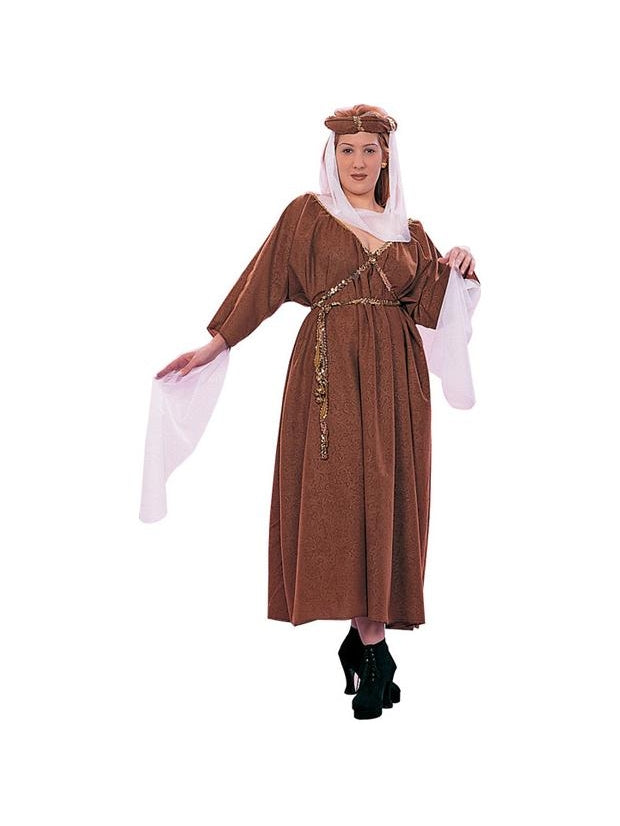 Plus Size Medieval Maiden Costume-COSTUMEISH