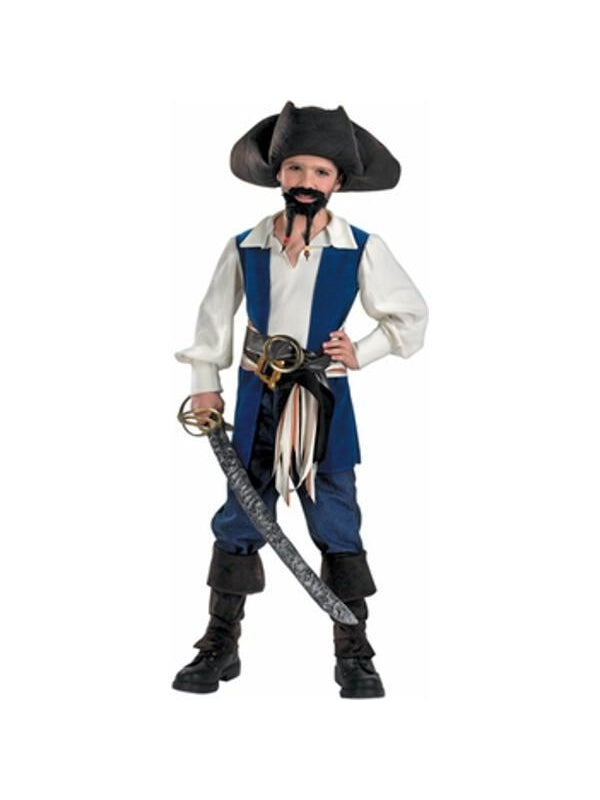 Child's Jack Sparrow Pirate Costume-COSTUMEISH