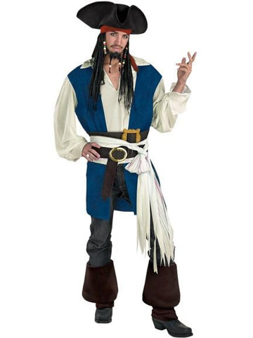 Teen Captain Jack Sparrow Costume