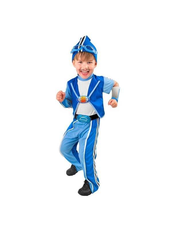 Child Deluxe Sportacus Costume-COSTUMEISH