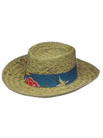 Gambler Straw Hat-COSTUMEISH