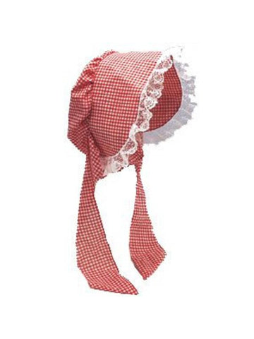 Adult Colonial Bonnet Praire Costume Hat-COSTUMEISH