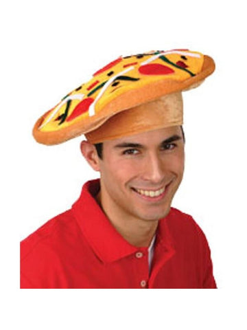 Adult Pizza Pie Hat-COSTUMEISH