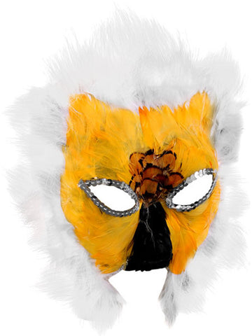 Feathered Lion Mask