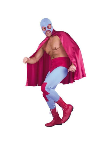 Adult Mexican Wrestler Costume-COSTUMEISH