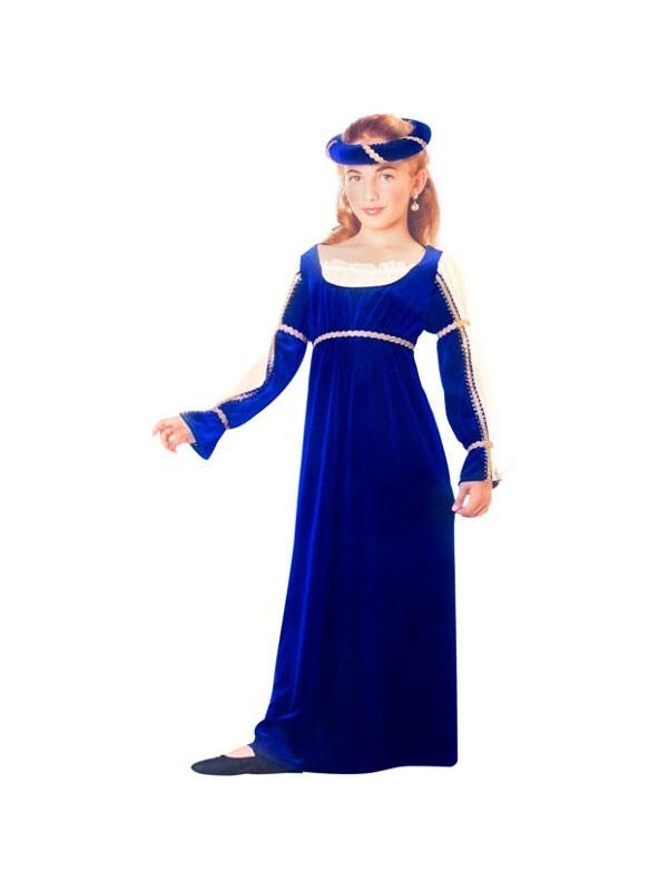 Child's Blue Caterina Costume-COSTUMEISH