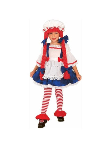 Child's Yarn Rag Doll Costume