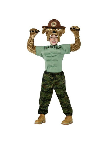 Child Marine Corps Bulldog Costume-COSTUMEISH