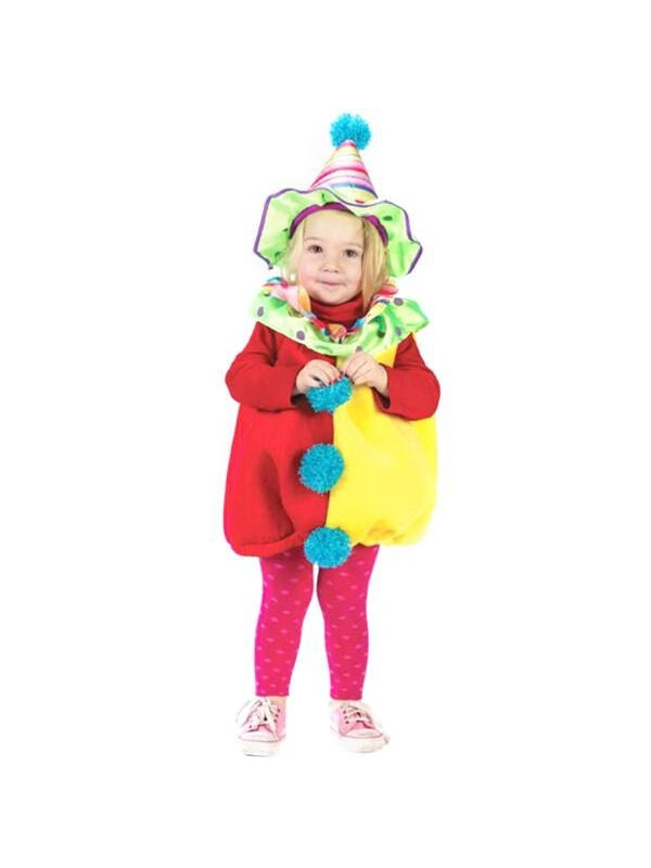 Toddler Cutie Clown Costume-COSTUMEISH