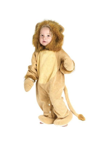 Infant Cuddly Lion Costume-COSTUMEISH