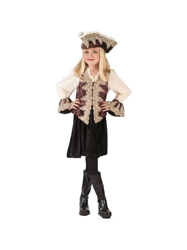 Childs Royal Pirate Lady Costume-COSTUMEISH