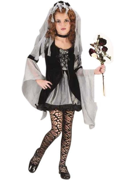 Child Sweetie Wicked Bride Costume-COSTUMEISH