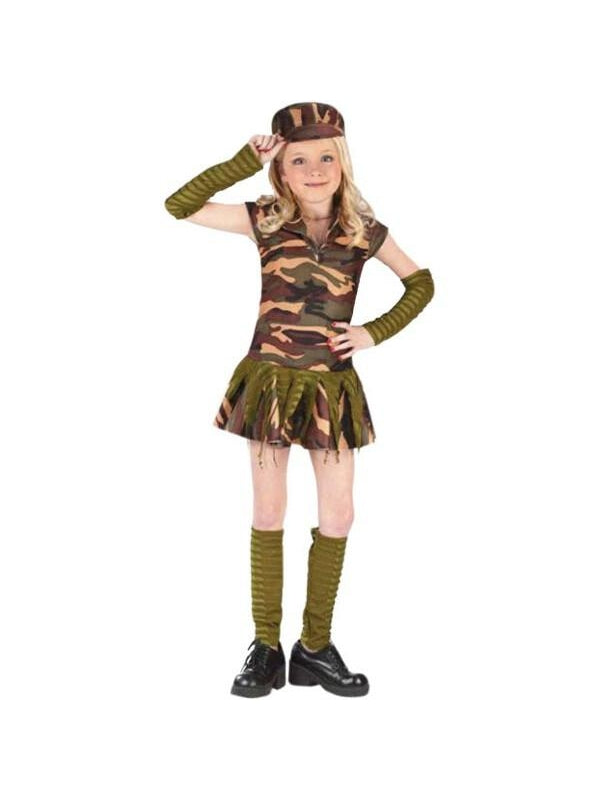 Childs Army Brat Costume-COSTUMEISH