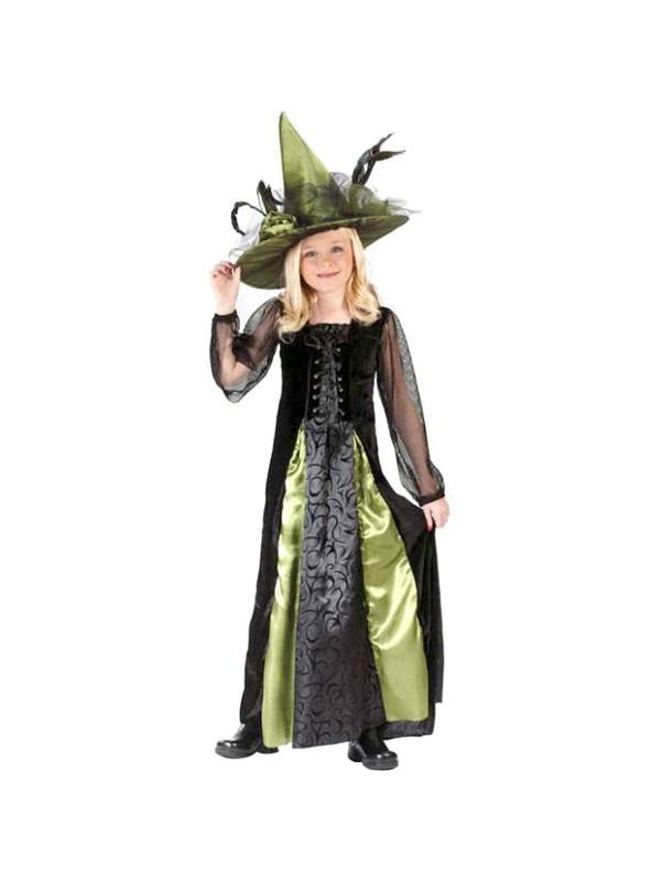 Childs Goth Maiden Witch Costume-COSTUMEISH