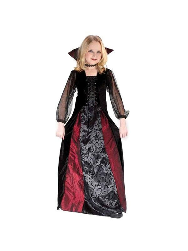Childs Gothic Vampira Costume-COSTUMEISH