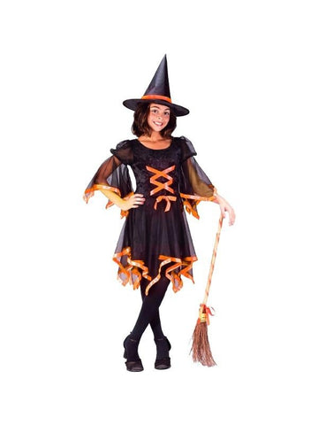 Childs Ribbon Witch Costume