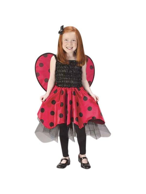 Child's Ladybug Dress Costume-COSTUMEISH