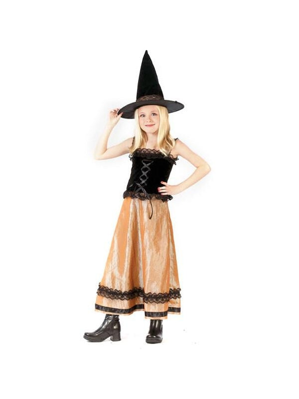 Childs Elegant Witch Costume-COSTUMEISH