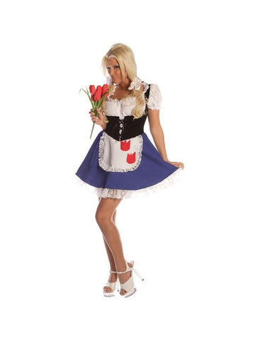 Adult Womens Sexy Dutch Girl Costume