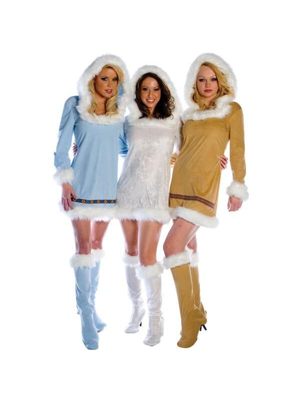Adult Women's Sexy Eskimo Costume-COSTUMEISH