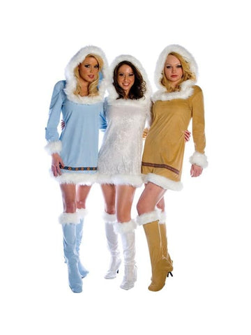 Adult Women's Sexy Eskimo Costume