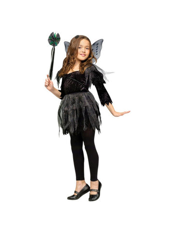 Child Midnight Fairy Costume-COSTUMEISH