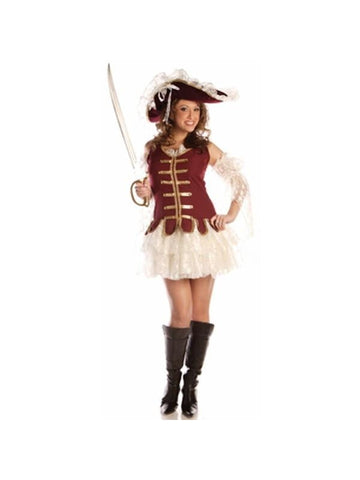 Adult Sexy Classy Pirate Costume