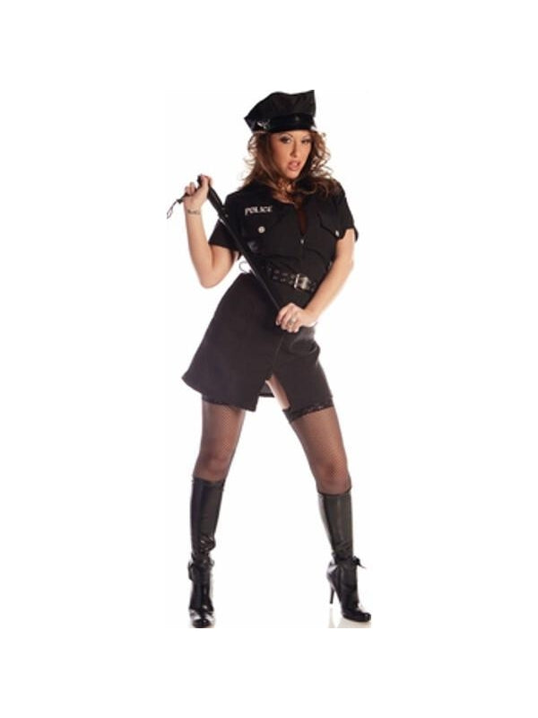 Adult Sexy Police Lady Costume-COSTUMEISH