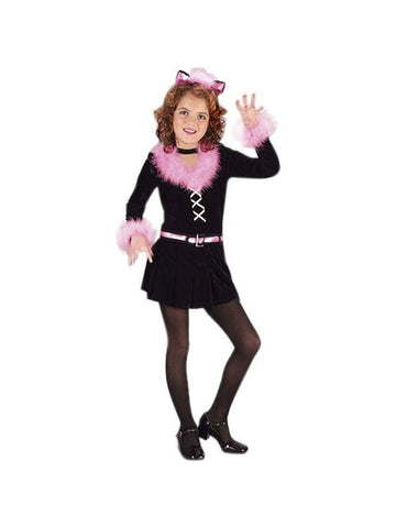 Childs Black Pretty Kitty Costume