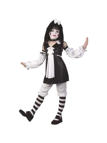 Childs Gothic Rag Doll Costume-COSTUMEISH