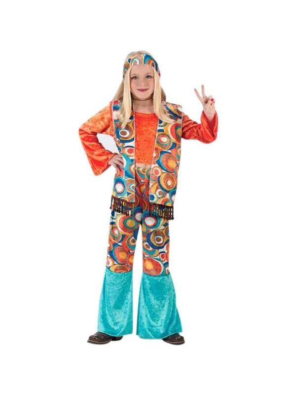 Childs Classic Hippie Girl Costume-COSTUMEISH